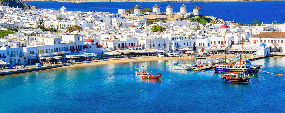 Exclusive Cruises: Mediterranean Sea and Greek Islands